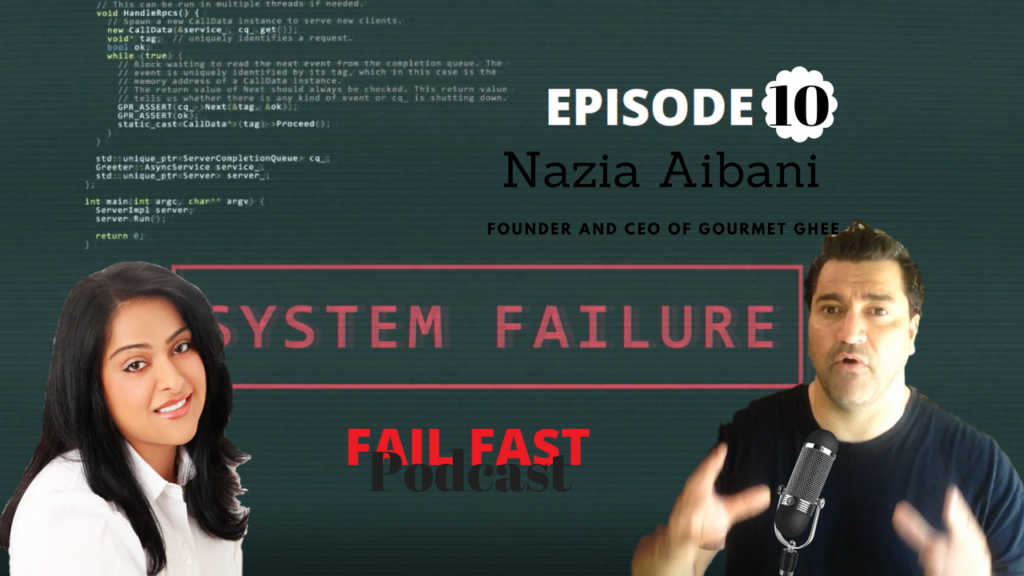 Nazia Aibani and Quin Amorim at the Fail Fast Podcast (1)
