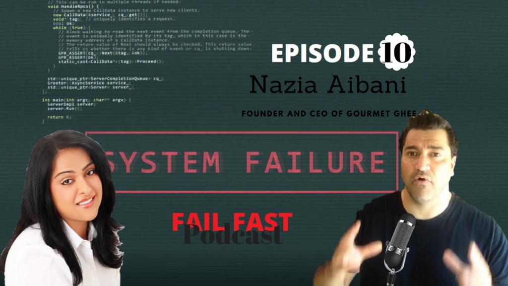 Nazia Aibani and Quin Amorim at the Fail Fast Podcast (1)