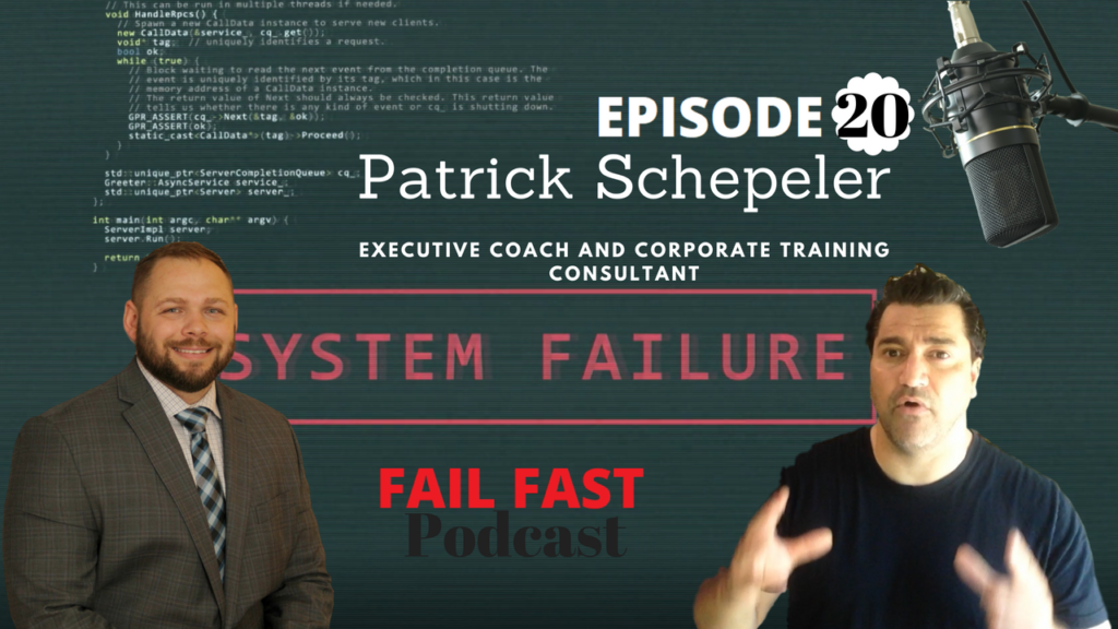 Patrick Schepeler, Executive Coach and Corporate Training Consultant, and Quin Amorim