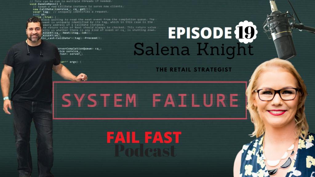 Salena Knight The Retail Strategist and Quin Amorim
