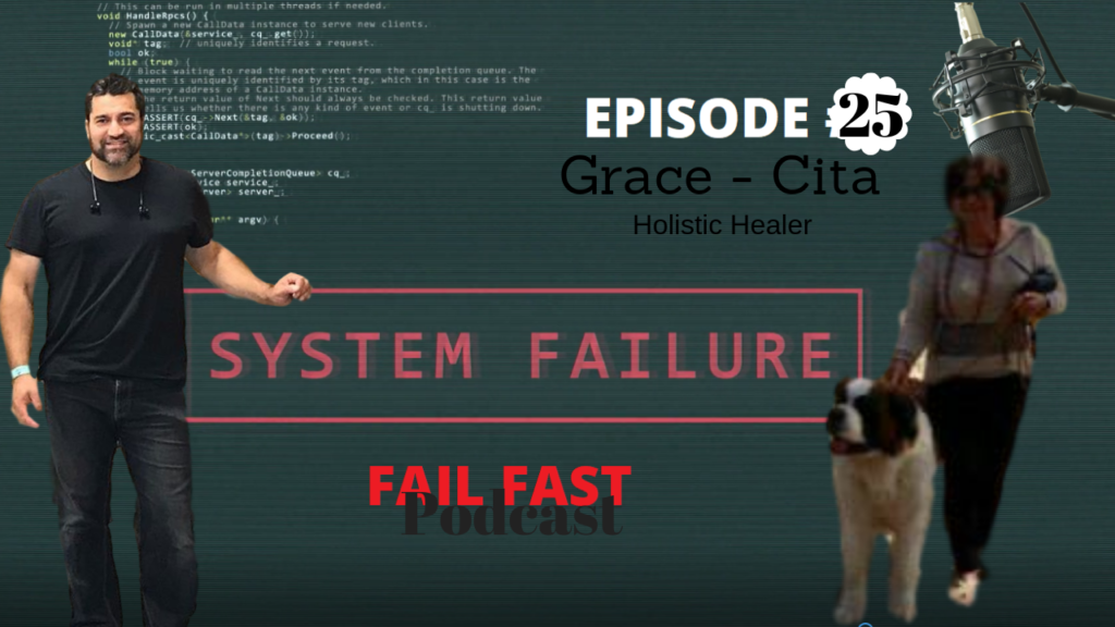 Holistic Healer Fail Fast Podcast with the Master Of Failure Quin Amorim