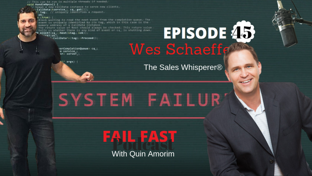 The Sales Whisperer, Wes Schaeffer