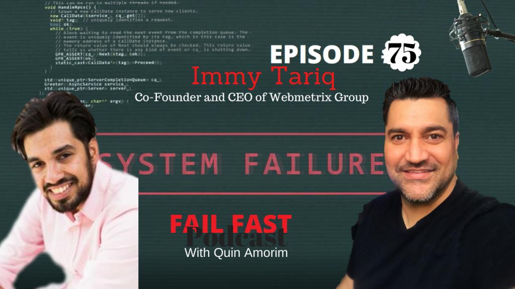 Immy Tariq Co-Founder of Webmetrix Group