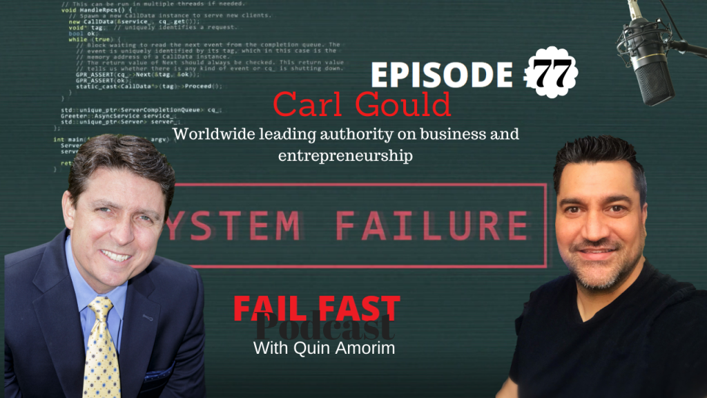 Carl Gould worldwide leading authority on business and entrepreneurship