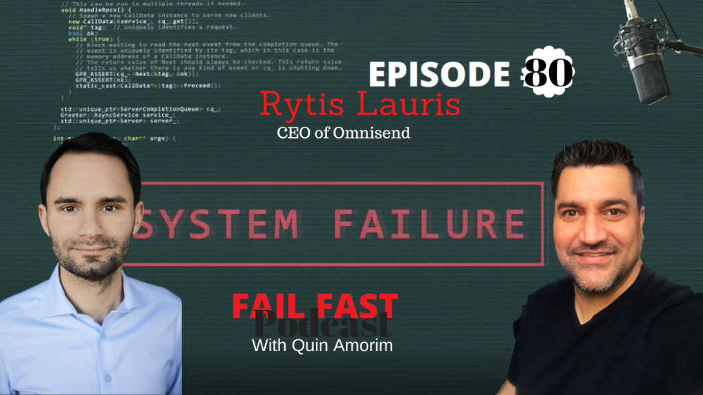 Rytis Lauris - CEO of Omnisend Ep.80
